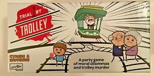 Trial By Trolley An Adult Card Game Of Moral Dilemmas And Murder Party Game NEW