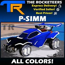 [PS4/PSN] Rocket League All Painted P-SIMM Exotic Wheels Totally Awesome Crate