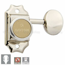 NEW Gotoh SD90-05M MGT Vintage Locking Tuners Keys for Gibson Style 3x3 - NICKEL