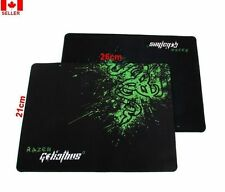 1 Pc Razer Goliathus rubber fabric Gaming Mouse Pad Speed Edition 210X260 X 2MM