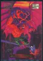 1994 Marvel Masterpieces Gold Signature Trading Card #16 Bloodhawk