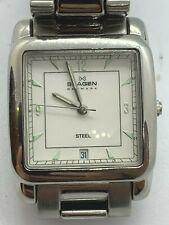 """Skagen 182LXSB- Wrist Watch  - """"Steel"""" model w/new battery"""