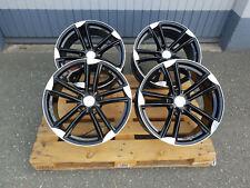 18 in Wheelworld wh27 ALU Jantes et45 5x112 noir Pour AUDI VW Rotor s3 RS R
