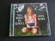 THEY MIGHT BE GIANTS - John Henry CD  **Good Condition**  Free Shipping!