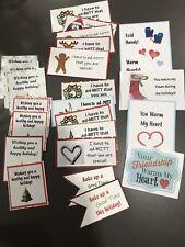 Christmas Baking & Coordinating Gift Tags Handmade