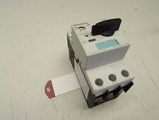SIEMENS SIRIUS MANUAL MOTOR CONTROLLER 3RV1021-1CA10 2.5FLA CLASS-10 33A M/OFFER
