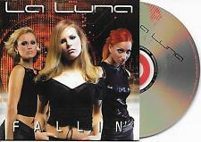 LA LUNA - Fallin' CD SINGLE 2TR CARDSLEEVE Eurodance Trance 2002 BELGIUM