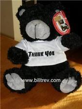 "Thank You 9"" Black & White Papa Bear BNWT Soft Toy Gift"