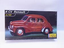 NO 010 | Heller 80174  4 CV Renault 1:43 ungebaut NEU in OVP