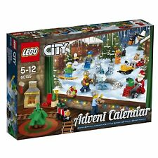 Lego City Advent Calendar #60155 Dated 2017 (Retired) 24 Gifts, Santa, Mini-Figs