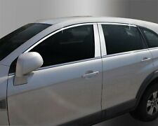 Auto Clover Chrome Side Window Top Frame Trim Cover Set for Chevrolet Captiva 20