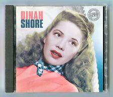 Dinah Shore - Legendary Song Stylist - Scarce Mint 1998 Cd Album