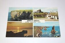 John O' Groats Souvenir Postcard - Where Scotland Ends PLC 35680, Colourmaster
