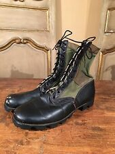 Vietnam Military Paratrooper Army Hipster Boots Size 12