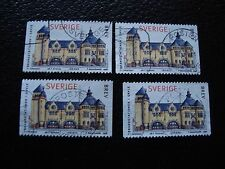 SUEDE - timbre yvert et tellier n° 2021 x4 obl (A29) stamp sweden (Z)