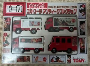 (Unopened) Classic Vintage Tomica Tomy Cola Antique Boxset Year 1998