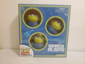 Thinkway Disney Toy Story Signature Collection Space Aliens, Brand New SEALED