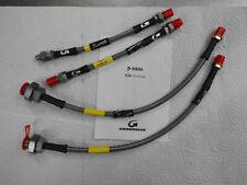 Stahlflex-Bremsleitungssatz 4Tlg.inkl.ABE für Mini