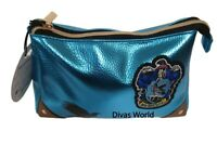 Official Harry Potter Cosmetic Purse Ravenclaw Make up wash Bag Brand New
