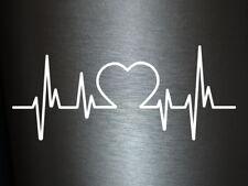 1 x 2 Plott Aufkleber Herzschlag Doc Doctor Doktor Tuning Autoaufkleber Shocker