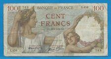 Gertbrolen 100 Francs ( SULLY )  du 24-8-1939      S.456