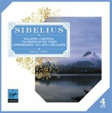 SIBELIUS: KULLERVO; CANTATAS; THE MAIDEN IN THE TOWER; ETC. (NEW CD)