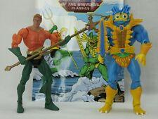 MOTUC,MER-MAN & AQUAMAN,DC,Masters Of The Universe Classics,Complete,He man