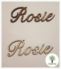WEDDING EVENTS SEATING PLACE NAMES WOODEN PERSONALISED - STYLE 2