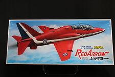 XB021 FUJIMI 1/72 maquette avion 7A-C2-500 Red Arrow British aerospace Hawk 1983