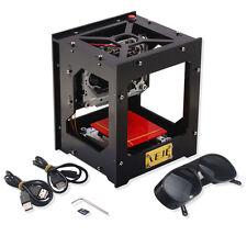 NEJE DK-8-KZ 1000MW Double USB Graveur Equipement Laser Gravure Imprimante Noir