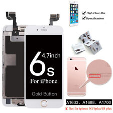 OEM For Apple iPhone 6S 4.7'' LCD Touch Screen Digitizer Complete+Button Camera