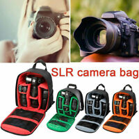 Camera Backpack Waterproof Travel Lens Case Bag For DSLR SLR Canon Nikon Sony