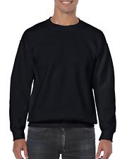 Gildan Men's Heavy Blend Crewneck Sweatshirt - X-Large - Black