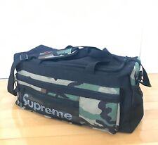Authentic Supreme cordura Duffle bag travelling gym barrel general utility bag