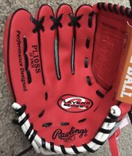 Rawlings Player Series Pl10Ss 10� Lh Throw Tee Ball Glove - Lefty - New