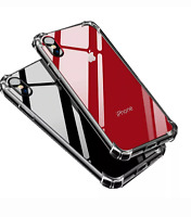 Case +2 Screen Protectors for iPhone 11 XR max Case 6S 7 8 Plus X XS Cover Clear