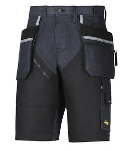 SNICKERS 6104 RUFFWORK DENIM WORK SHORTS +HOLSTER POCKETS **FREE DELIVERY**