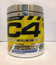 Cellucor C4 Pre-Workout iD Series 60 Servings BLUE RAZZ NEW