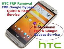 Remote FRP / Google Account Bypass Removal, HTC Desire, M9, M10, A9, 530, 630 ++
