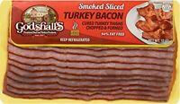 Godshall's Smoked Sliced Turkey Bacon 12 Oz (4 Pack)