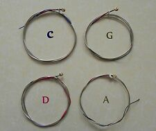 Free Shipping 5 Sets Fine Upright Double Bass Strings for 3/4-4/4 #VT-008