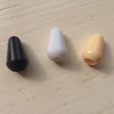 SWITCH TIP 3/5 -WAY in White/Black/Cream for Fender/Squier Type Electric Guitars