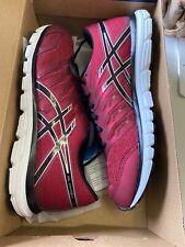 NIB ASICS Deep Ruby/Silver GEL-ZARACA 4 Athletic Running Shoes Sneakers, Sz 9