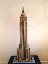 Lego MOC custom build Empire State Building (instructions only) modular