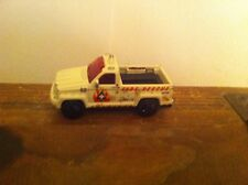 Matchbox 2000 Diecast Truck Toy Car Trooper Carrier Fire Rescue Department Rare