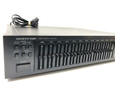 Onkyo Integra Eq-35 Integra Stereo 12 - Band Graphic Equalizer Mixer Japan 1983