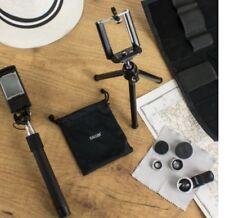 Olixar Universal Smartphone Photography Kit 3 in 1 Lens + Selfie Stick + Tripod