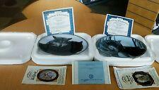 Tender Moments by Jim Dutcher  (2) collectable plates devotion & inseparable