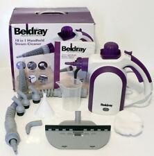 BELDRAY 10 IN 1 HANDHELD STEAM CLEANER - GARMENTS UPHOLSTERY OVENS HOBS BBQs
