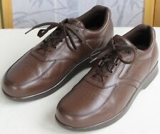 14 M | SAS Time Out Men Brown Leather Leather Lace Up Casual Work Oxford